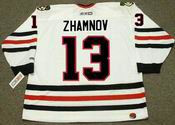ALEX ZHAMNOV Chicago Blackhawks 2002 CCM Throwback Home NHL Hockey Jersey