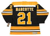 DON MARCOTTE Boston Bruins 1974 CCM Vintage Throwback NHL Hockey Jersey