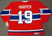 TERRY HARPER Montreal Canadiens 1969 CCM Vintage NHL Hockey Jersey