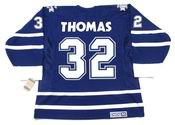 STEVE THOMAS Toronto Maple Leafs 2001 CCM Vintage Throwback NHL Hockey Jersey