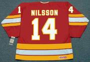 KENT NILSSON Calgary Flames 1982 CCM Vintage Throwback NHL Hockey Jersey