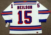 JIM NEILSON New York Rangers 1972 CCM Throwback Home NHL Hockey Jersey