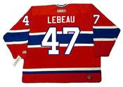 STEPHAN LEBEAU Montreal Canadiens 1990 CCM Throwback Away NHL Hockey Jersey