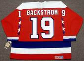 NICKLAS BACKSTROM Washington Capitals CCM Vintage Throwback Home NHL Jersey