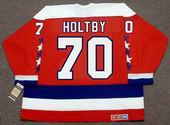 BRADEN HOLTBY Washington Capitals CCM Vintage Throwback Home NHL Jersey