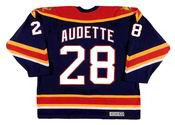 DONALD AUDETTE Florida Panthers 2003 CCM Vintage Throwback NHL Hockey Jersey
