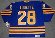 DONALD AUDETTE Buffalo Sabres 1993 CCM Vintage Throwback NHL Hockey Jersey