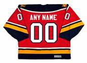 "FLORIDA PANTHERS 1990's CCM Vintage Away Jersey Customized ""Any Name & Number(s)"""
