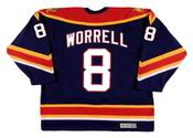 PETER WORRELL Florida Panthers 2001 CCM Vintage Throwback NHL Hockey Jersey