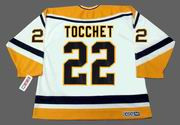 RICK TOCCHET Pittsburgh Penguins 1993 CCM Throwback Home NHL Jersey