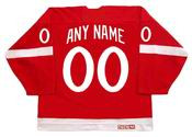 "DETROIT RED WINGS 1982 CCM Vintage Jersey Customized ""Any Name & Number(s)"""