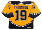 JOE THORNTON Boston Bruins 2003 CCM Throwback Alternate NHL Hockey Jersey