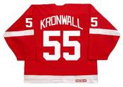 NIKLAS KRONWALL Detroit Red Wings 2006 CCM Vintage NHL Hockey Jersey
