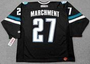 BRYAN MARCHMENT San Jose Sharks 2001 CCM Throwback Alternate NHL Jersey