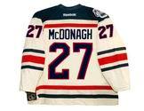 "RYAN McDONAGH New York Rangers Reebok 2012 ""Winter Classic"" NHL Jersey"