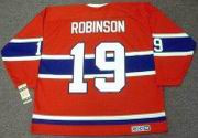 LARRY ROBINSON Montreal Canadiens 1973 CCM Vintage Throwback Away Hockey Jersey
