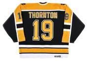JOE THORNTON Boston Bruins 2002 CCM Throwback Away NHL Hockey Jersey