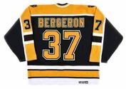 PATRICE BERGERON Boston Bruins 2005 CCM Vintage Home NHL Hockey Jersey