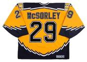 MARTY McSORLEY Boston Bruins 1999 CCM Throwback Alternate NHL Hockey Jersey