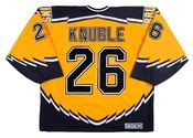 MIKE KNUBLE Boston Bruins 2002 CCM Throwback Alternate NHL Hockey Jersey