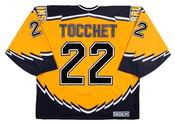 RICK TOCCHET Boston Bruins 1996 CCM Throwback Alternate NHL Hockey Jersey