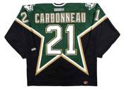GUY CARBONNEAU Dallas Stars 1999 CCM Throwback NHL Hockey Jersey
