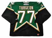 PIERRE TURGEON Dallas Stars 2003 CCM Throwback NHL Hockey Jersey