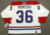 SERGIO MOMESSO Montreal Canadiens 1986 CCM Throwback Home NHL Jersey