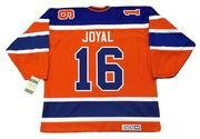 EDDIE JOYAL Edmonton Oilers 1974 CCM Vintage WHA Hockey Jersey