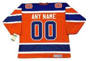 """EDMONTON OILERS 1970's CCM Vintage WHA Jersey Customized """"Any Name & Numbers"""""""