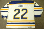 LINDY RUFF Buffalo Sabres 1988 CCM Vintage Throwback Home Hockey Jersey