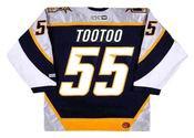 JORDIN TOOTOO Nashville Predators 2003 CCM Throwback NHL Hockey Jersey
