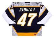 ALEXANDER RADULOV Nashville Predators 2006 CCM Throwback NHL Hockey Jersey