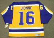MARCEL DIONNE Los Angeles Kings 1980 CCM Vintage Throwback NHL Hockey Jersey