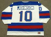MARK JOHNSON 1980 USA Olympic Hockey Jersey
