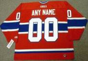 "MONTREAL CANADIENS 1980's CCM Throwback NHL Jersey Customized ""Any Name & Number(s)"""