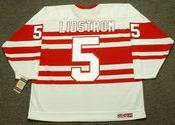 NICKLAS LIDSTROM Detroit Red Wings 1992 CCM Vintage Throwback NHL Hockey Jersey