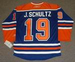 JUSTIN SCHULTZ Edmonton Oilers REEBOK Home NHL Hockey Jersey