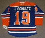 JUSTIN SCHULTZ Edmonton Oilers REEBOK Home NHL Hockey Jersey