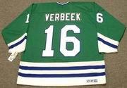 PAT VERBEEK Hartford Whalers 1989 CCM Throwback Away NHL Hockey Jersey