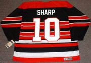 PATRICK SHARP Chicago Blackhawks 1940's CCM Throwback Away Hockey Jersey