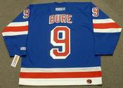 PAVEL BURE New York Rangers 2003 CCM Throwback Away NHL Hockey Jersey