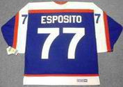 PHIL ESPOSITO New York Rangers 1976 CCM Vintage Throwback NHL Hockey Jersey