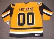 "PITTSBURGH PENGUINS 1980's CCM Vintage Jersey Customized ""Any Name & Number(s)"""