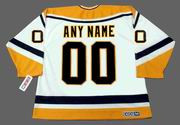 "PITTSBURGH PENGUINS 1990's CCM Throwback Home Jersey Customized ""Any Name & Number(s)"""