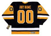 "PITTSBURGH PENGUINS 1990's CCM Vintage Away Jersey Customized ""Any Name & Number(s)"""