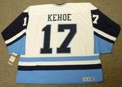 RICK KEHOE Pittsburgh Penguins 1977 CCM Vintage Throwback NHL Jersey