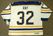 ROB RAY Buffalo Sabres 1992 CCM Vintage Throwback Home Hockey Jersey