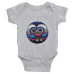 "Infant Bodysuit ""Butterfly Kisses"""