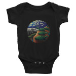 "Infant Bodysuit ""Howling At The Moon"""